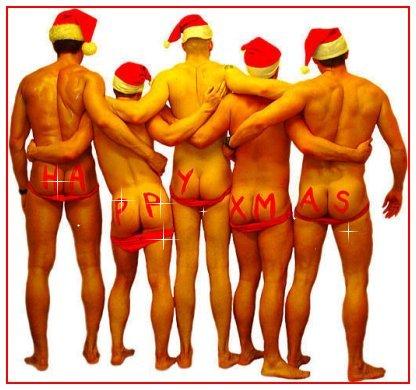 Christmas Sexy Card