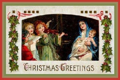 Christmas Vintage Card