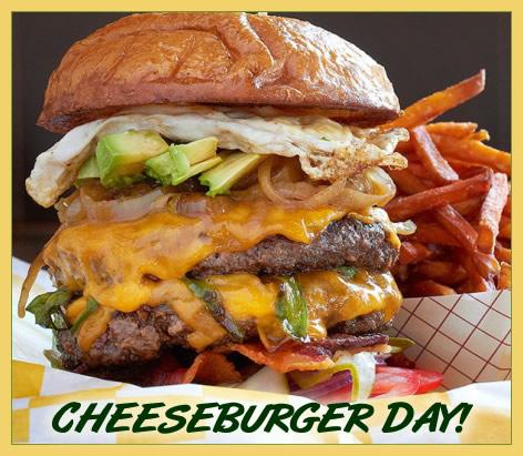 September 18 - Cheeseburger Day