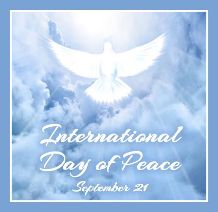 September 21 - International Peace Day