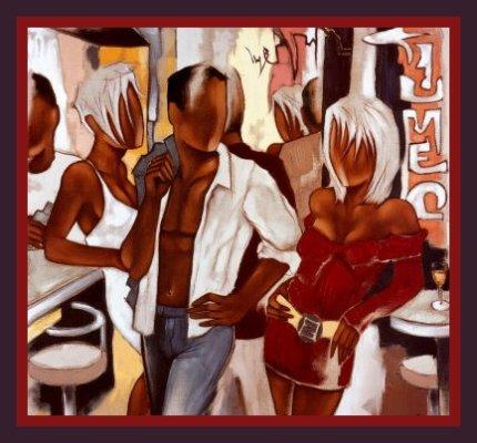 African American Card