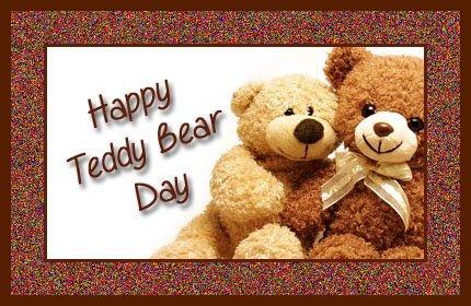 September 09 - Teddy Bear Day