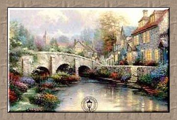 Thomas Kinkade Card
