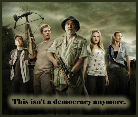 The Walking Dead Card
